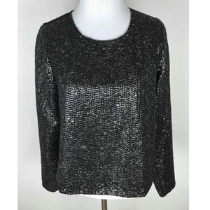 NWT Lovers + Friends Beaded Top